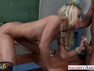 Naughty Teacher Laura Bentley Fucking