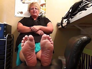 Bbw Stinky, Plump Feet