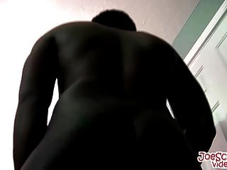 Horny Bisexual Dj Loves To Show Off His Big Black Cock