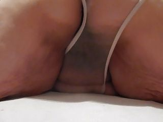 Chubby see through panties