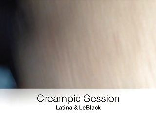 Latina Gets Creampie By Bbc