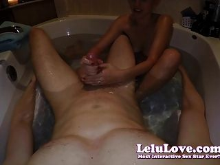 Lelu Love-pov Rubbing And Handjob In Bathtub