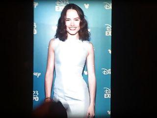 Daisy Ridley Cum Tribute #1