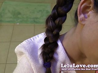 Lelu Love-pov Bj Cumshot In Braided Hair