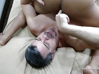 Not Daddy Bareback Flip Fucks Asian Boy Craig