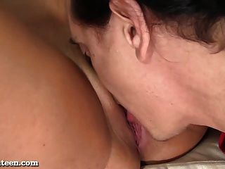 Sexy Latina Teen Loves Her Cum Fiesta