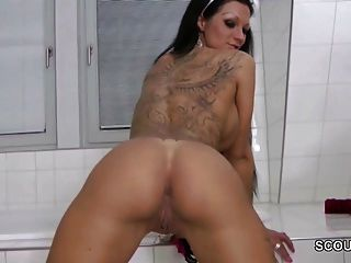 Young German Teen Seduce To Give Me Handjob