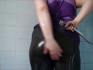 Big Ass Wet Spandex 6