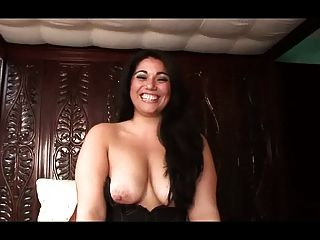 Cute Young Woman Topless Talk