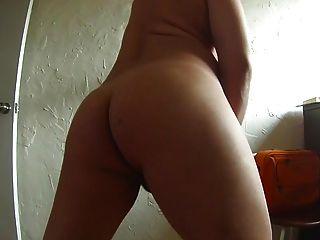Hot Ass With Dildo