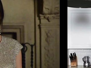 Lucy Hale Vs Emma Robert Rd 1 Jerk Off Challenge