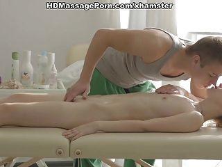 Kick-ass Massage Porn Movie With A Hot Blonde Scene 2