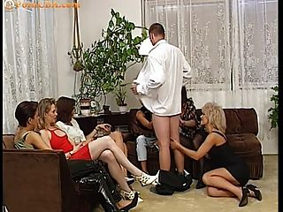 Girl Sucking Cock At Hen Party