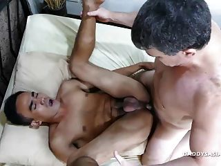 Not Daddy Bareback Fucks Str8 Asian Boy Jr