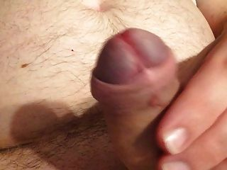 Jerking Off My Uncut Cock With Happy End 19.12.2015