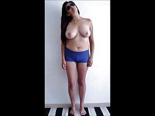 Cute Model Naked Photoshoot