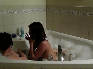 College Lesbians Take A Bath
