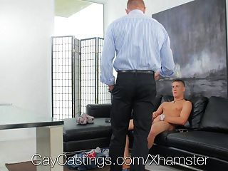 Innocent Blond Jock Creeped On And Fucked By Guy
