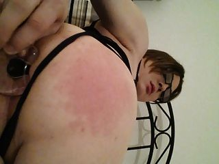 Sub Cd Dayna Buttplug And Self Spanking