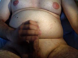 Shaved Chub Bear Jerk Off