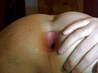 Gape Close Up Deep View Into My Asshole