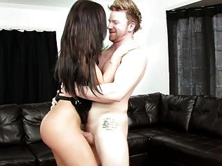Hot Sex With Slender Brunette