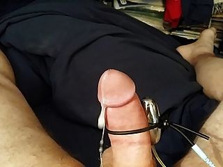 Pumping Cum Out Handsfree With A Vibrator