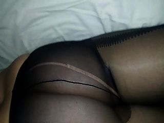 Wanking Over Wife In Tights