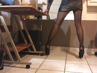 Cd Bitch In Pantyhose