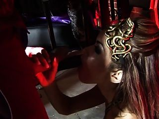Kinky Paul Has Lovely Sex Slaves Pleasure Him