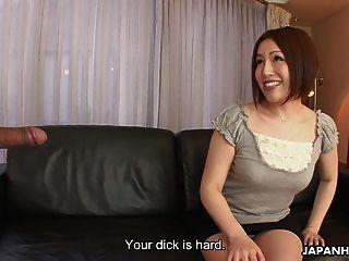 Asian Slut Hiromi Toy Masturbating As The Dude Wanks