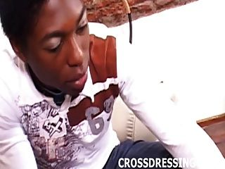 See Me Dressed As A Cute Little Crossdressing Ebony Slut