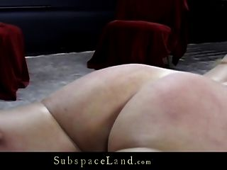 Blonde Big Juggs And Big Arse In Restraint