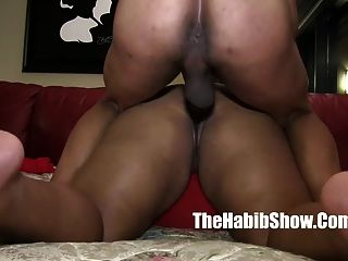 Poppin Cherryred Banged Knocked Up Bbw Milf By 14inch Dong