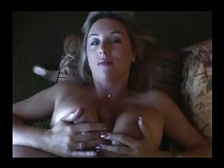 Big Titty Fuck And Hand Job Makes Him Cum
