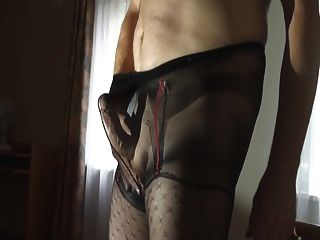 Patterned Pantyhose 3