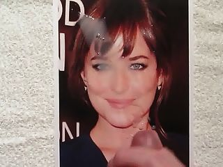 Cum On Dakota Johnson Tribute