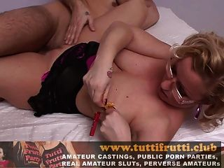 New Casting With Big Tits Silvia