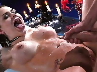 Slow Motion Body Cumshot And Facial