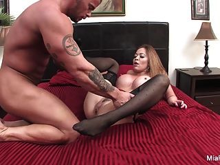 Asian Hottie Mia Gets A Big Italian Sausage From Marco