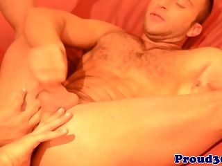 Ripped Bear Cockriding On Muscle