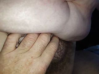 Big Tits, Hairy Pussy, Her Hairy Ass On My Cock