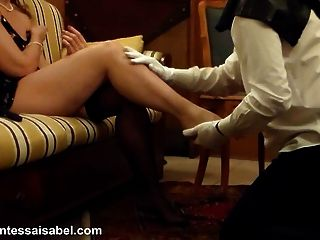 Intense Leg And Foot Worship In The Boudoir
