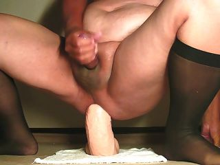 Monster Dildo Riding Addiction 27 Aug-09-2014