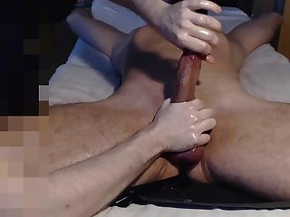 Me Tease Edge Cbt Milk Hung Buddy With Big Balls - Post Cum
