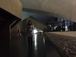 En Femme In A Congress Center