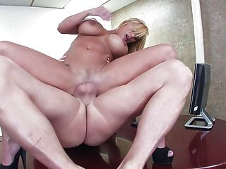 Blonde In The Office