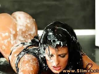 Nicole Vice Bukkake Babe Drenched In Cum