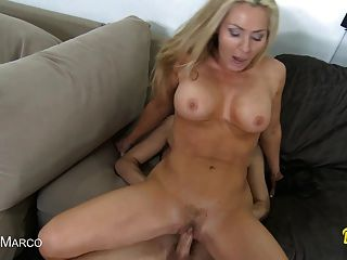 Cute Milf Gets Her Tight Pussy Fucked!