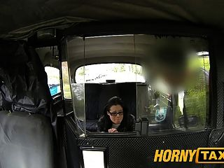 Hornytaxi Young Horny Girl In Backseat Surprise